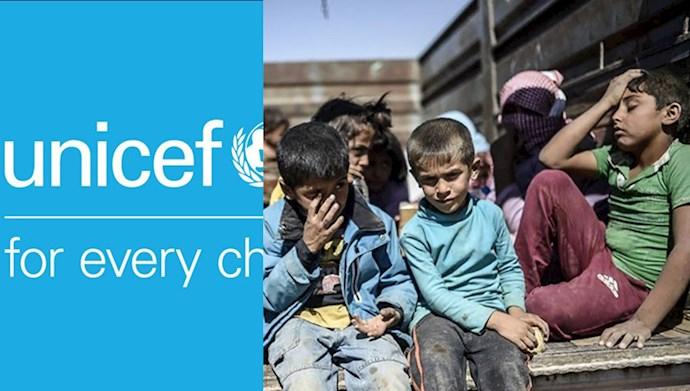 گزارش یونیسف از کشتار کودکان در سوریه