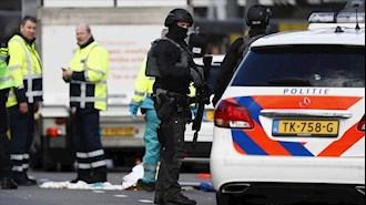 انفجار مرکز تست کرونا در آمستردام