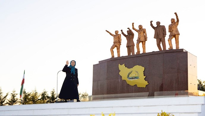 مریم رجوی رئیس جمهور برگزیده مقاومت