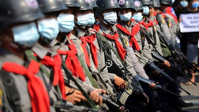 کشتار در میانمار