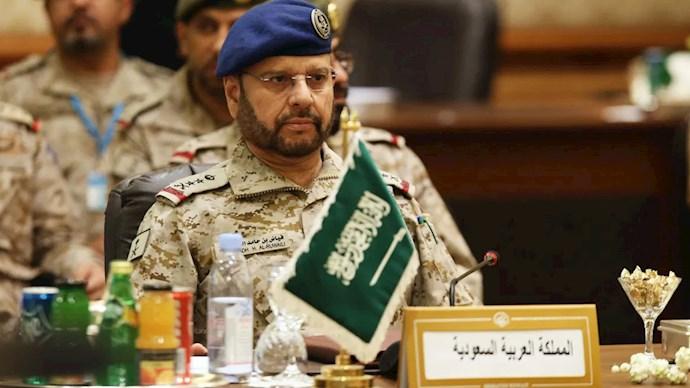 فیاض بن الروایلی رئیس ستاد عربستان سعودی