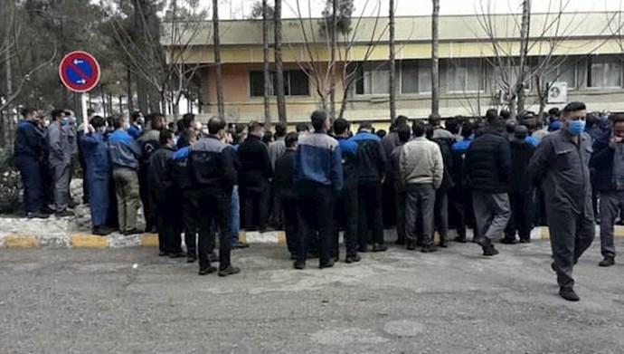 کارگران لاستیک پارس ساوه