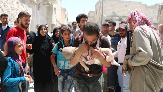 جنایات جنگی رژیم اسد در سوریه