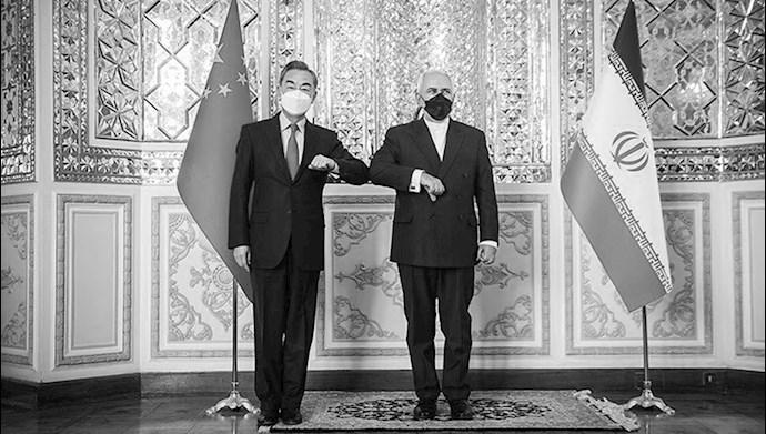 وزیر ان خارجه رژیم و چین