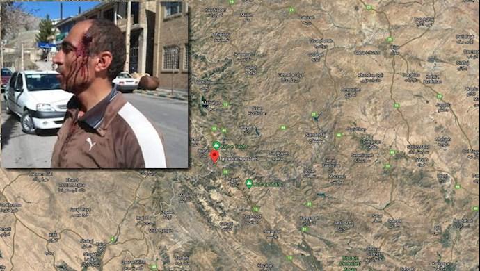 کرمانشاه - مجروح شدن یک کولبر در اثر شلیک مستقیم پاسداران