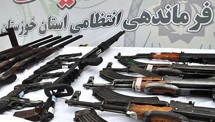 کشف ۴۸۹۰ قبضه سلاح در خوزستان