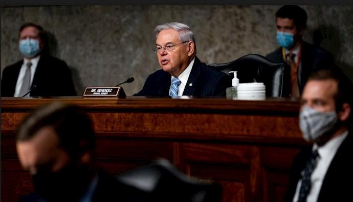 باب منندز  رییس کمیته روابط خارجی سنای آمریکا