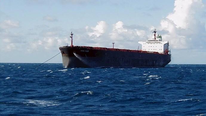 صادرات نفت رژیم - عکس از آرشیو