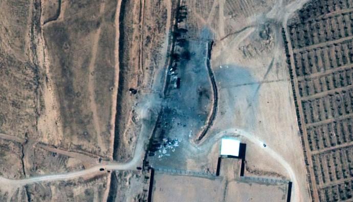 حمله هوایی آمریکا به تاسیات و پایگاههای شبهنظامیان رژیم ایران در سوریه