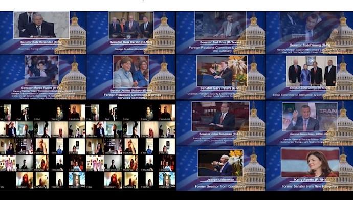کنفرانس در سنای آمریکا؛ حقوقبشر و دموکراسی در ایران