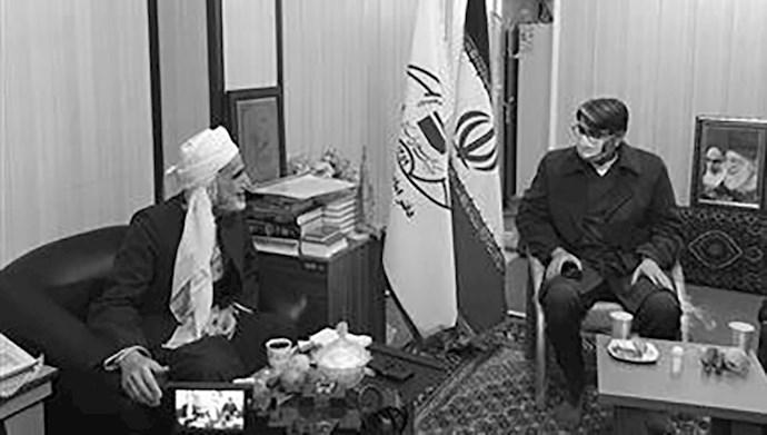 دیدار رئیس سازمان زندانهای رژیم با  رستمی نماینده خامنهای در سنندج
