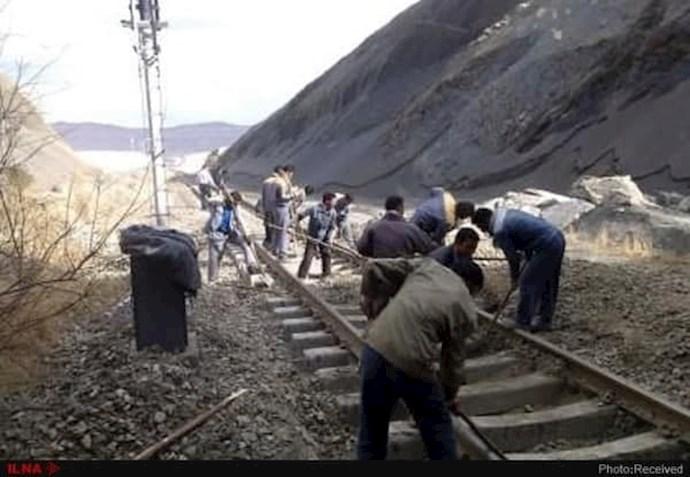 -اعتصاب کارگران راهآهن اراک (آرشیو)