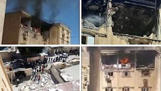 انفجار گاز شهری در اهواز