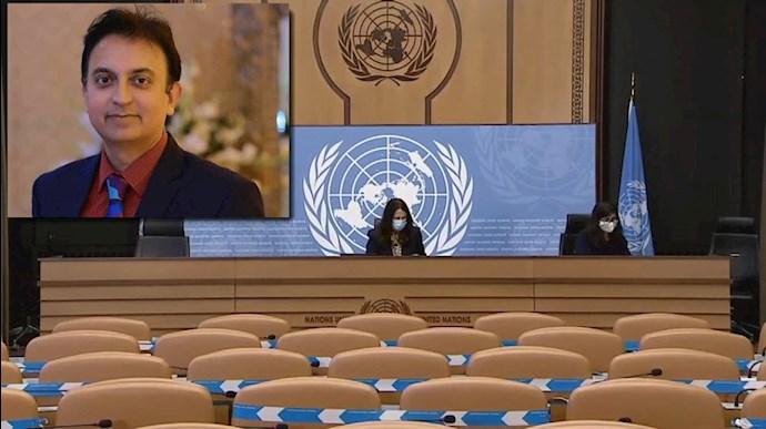 شورای حقوقبشر - درخواست تمدید مأمویت جاوید رحمان گزارشگر ویژه در امور ایران