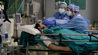 بیمارستان بیماران کرونایی در ایتالیا