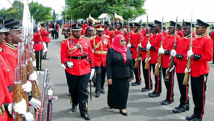 سمیه سولوهو حسن اولین رئیس جمهور زن در تانزانیا