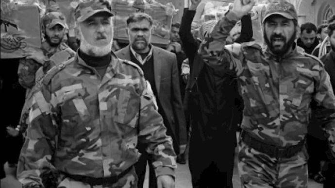 مزدوران شبهنظامی رژیم ایران