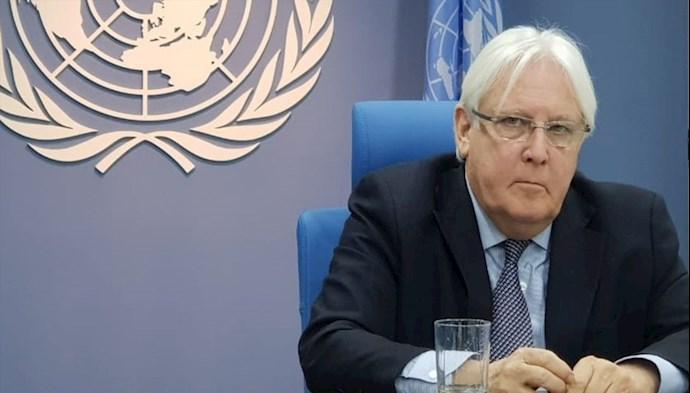 مارتین گریفیتس فرستاده ویژه سازمان ملل در یمن