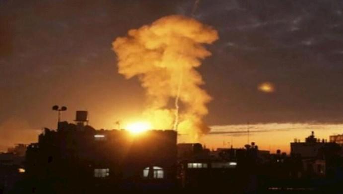 حملات هوایی در سوریه