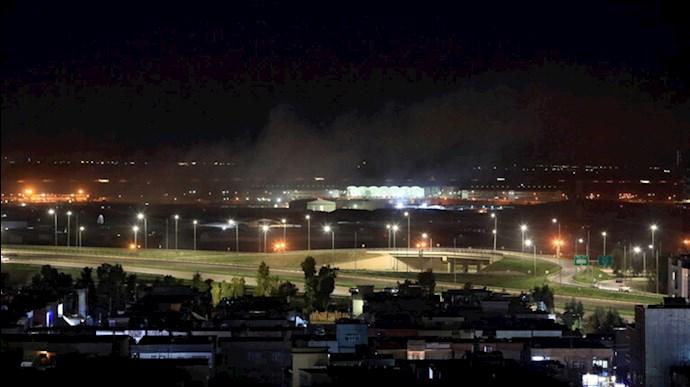 حمله موشکی به فرودگاه بینالمللی اربیل