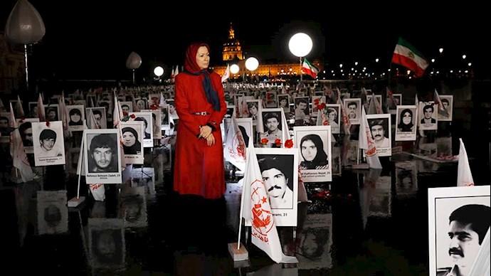 نمایشگاه ۳۰هزار قتل عام شده سال ۶۷