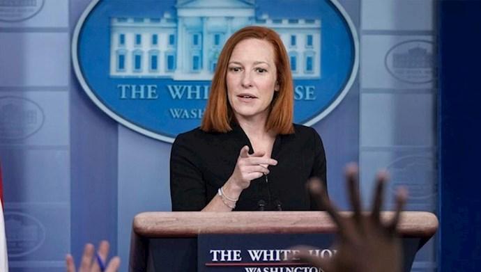 جن ساکی سخنگوی کاخ سفید