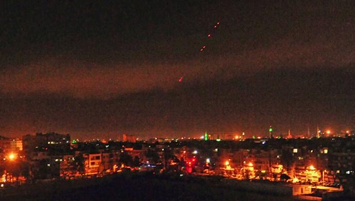 حمله راکتی به پایگاه هوایی بلد