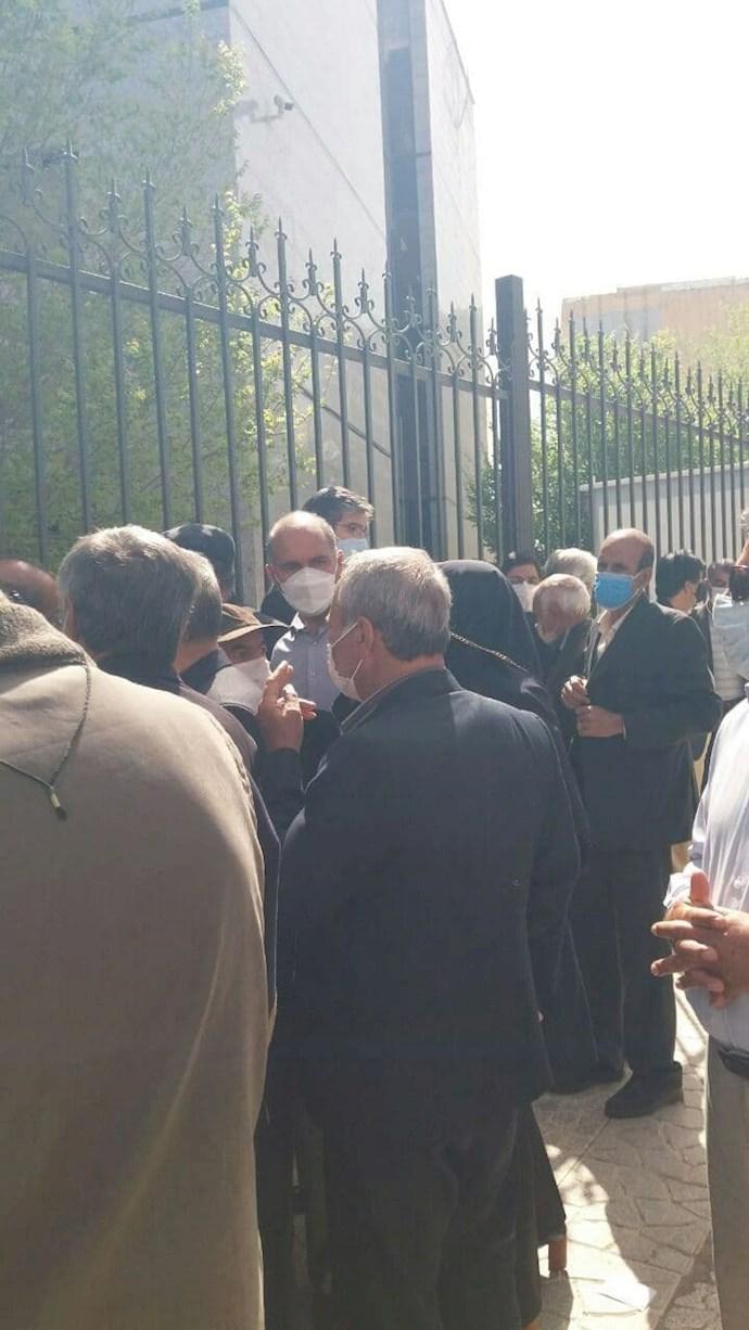 کرمانشاه - تجمع سراسری بازنشستگان ۱۸فروردین ۱۴۰۰