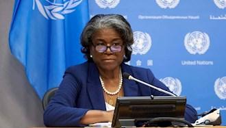 لیندا توماس گرینفیلد نماینده آمریکا در سازمان ملل متحد
