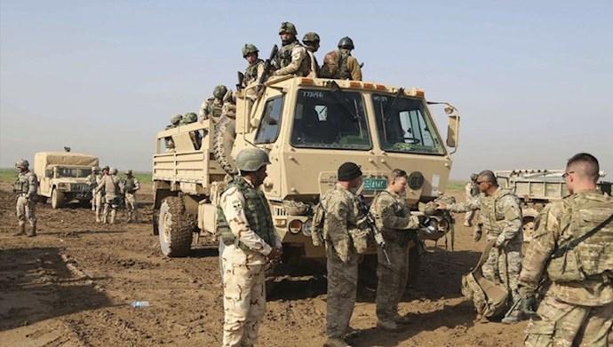 حضور نیروهای آمریکایی در عراق