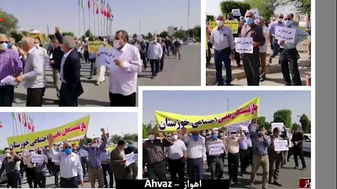 دومین تجمع سراسری بازنشستگان در ۲۵ شهر (۱۹ استان) - 2