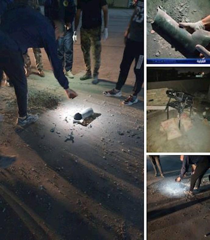 -حمله موشکی به فرودگاه بغداد