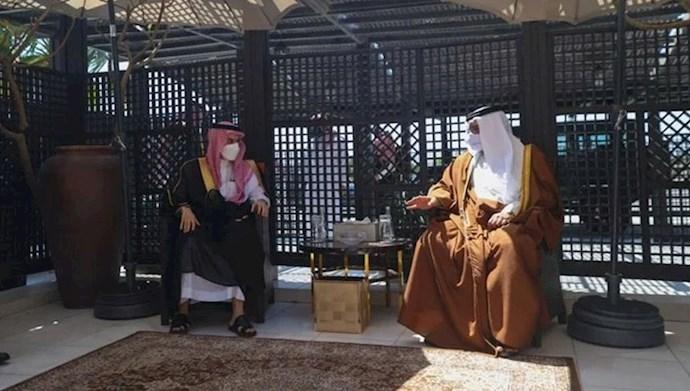 دیدار ولیعهد بحرین در منامه با وزیر خارجه عربستان