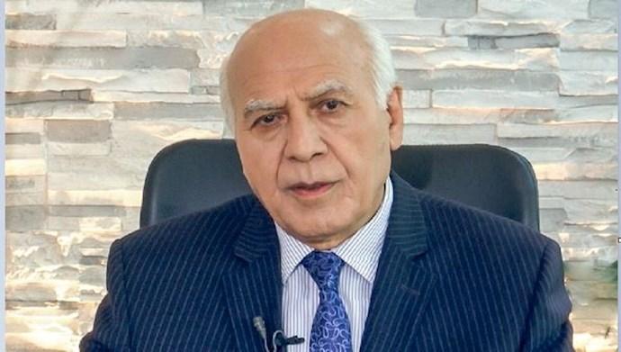 عباس داوری مسئول کمیسیون کار شورای ملی مقاومت