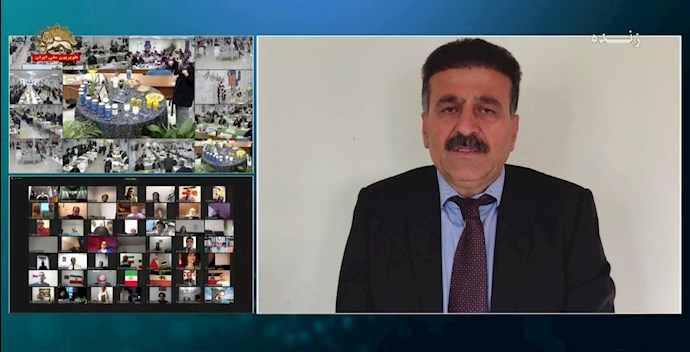 کاک بابا شیخ حسینی - دبیرکل سازمان خبات کردستان ایران