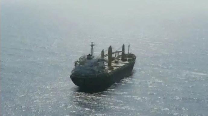 حمله به کشتی رژیم ایران در دریای سرخ
