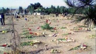 خاوران مزار شهیدان قتل عام ۶۷