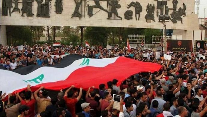 تظاهرات در بغداد - عکس از آرشیو