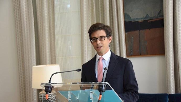 لوئیس وسی  سفیر فرانسه در نشست سالانه اعضای سازمان منع بکارگیری تسلیحات شیمیایی