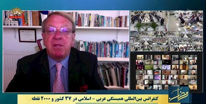 استرون استیونسون هماهنگکننده کارزار تغییر در ایران