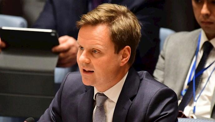 استیون هیکی سفیر انگلستان در عراق