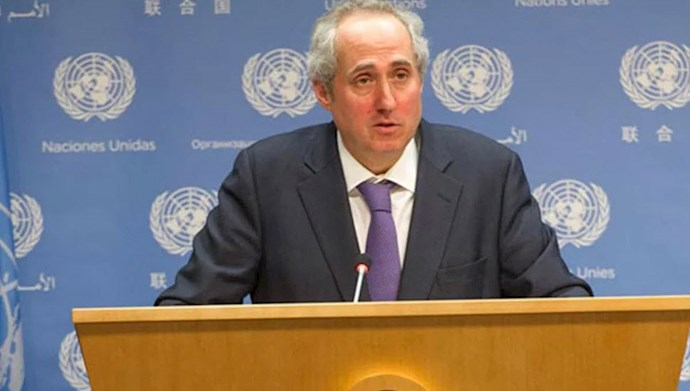 استفان دوجاریچ Stéphane Dujarric، سخنگوی دبیرکل سازمان ملل متحد