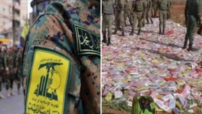 قاچاق مواد مخدر توسط حزب الشیطان
