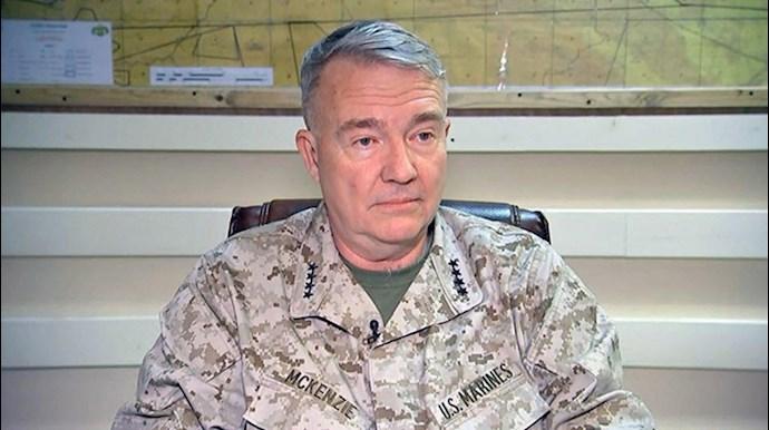 ژنرال کنت مکنزی فرمانده فرماندهی مرکزی آمریکا –سنتکام