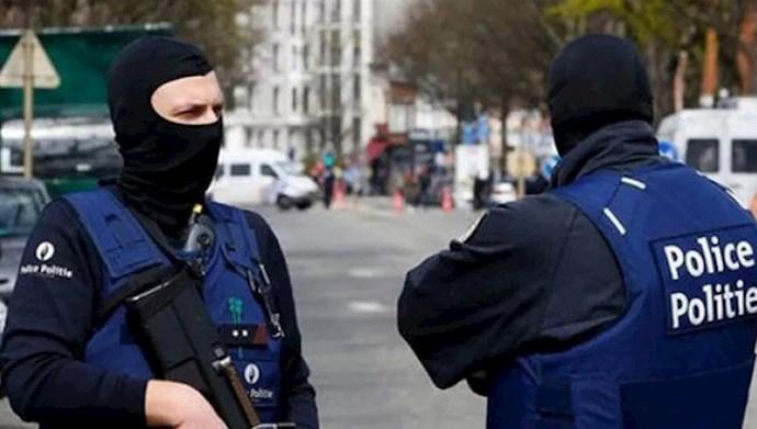 پلیس بلژیک - عکس از آرشیو