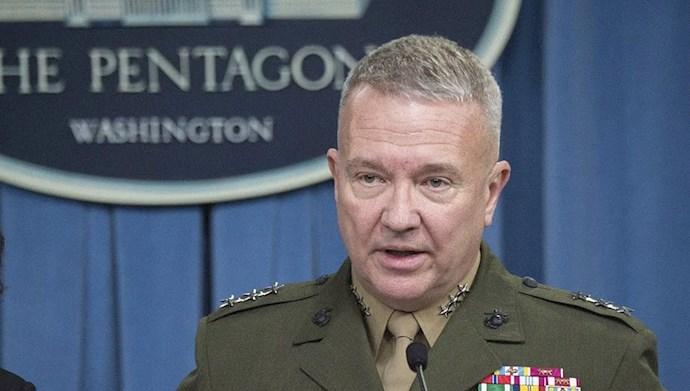 ژنرال مکنزی، فرمانده نیروهای نظامی آمریکا در خاورمیانه