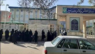 تجمع اعتراضی آموزشدهندگان نهضت سوادآموزی استان اردبیل