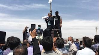 تجمع اعتراضی کشاورزان اصفهان ۴ اردیبهشت۱۴۰۰