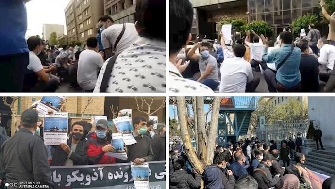 تجمع اعتراضی مالباختگان آذویکو