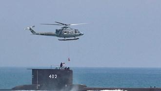 مانور دریایی ارتش اندونزی